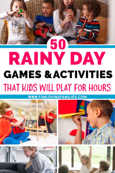 games for kids to play at home on a rainy day