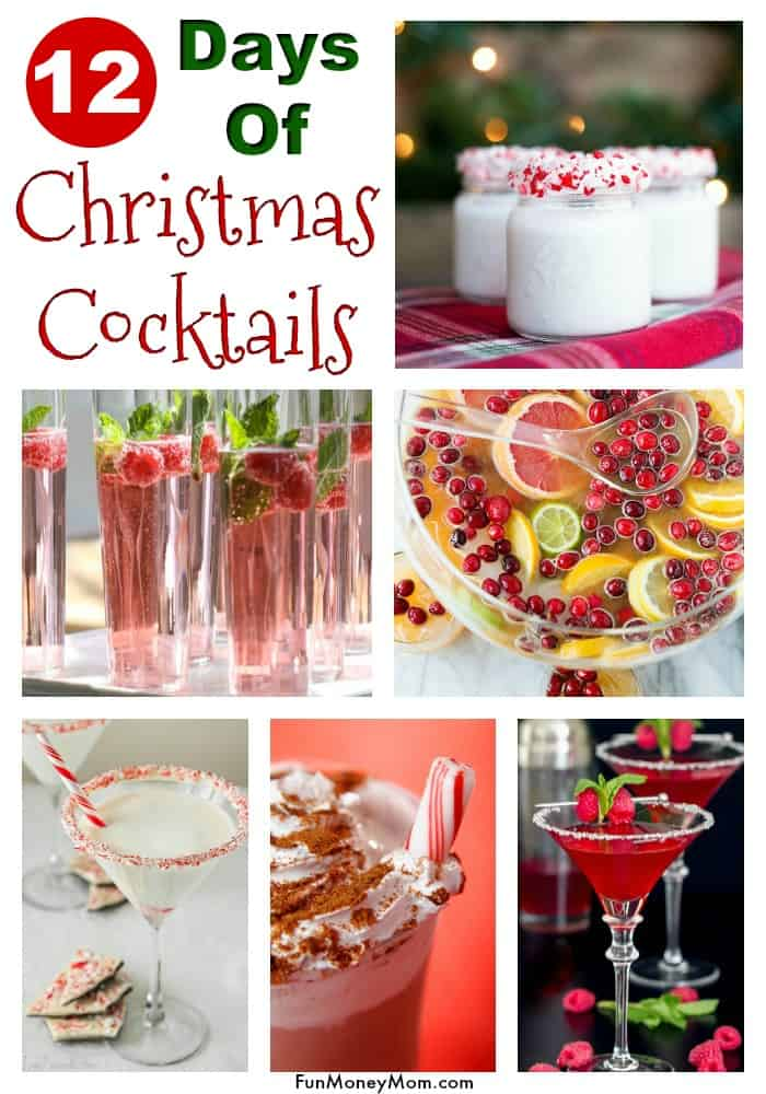 Holiday Cocktails - Need holiday cocktail ideas for your Christmas party? These Christmas cocktails make the perfect party drinks. #cocktails #Christmascocktails