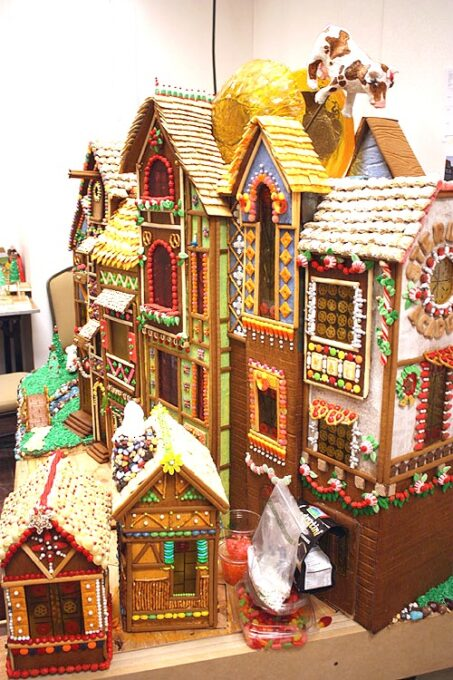 Not Martha gingerbread village