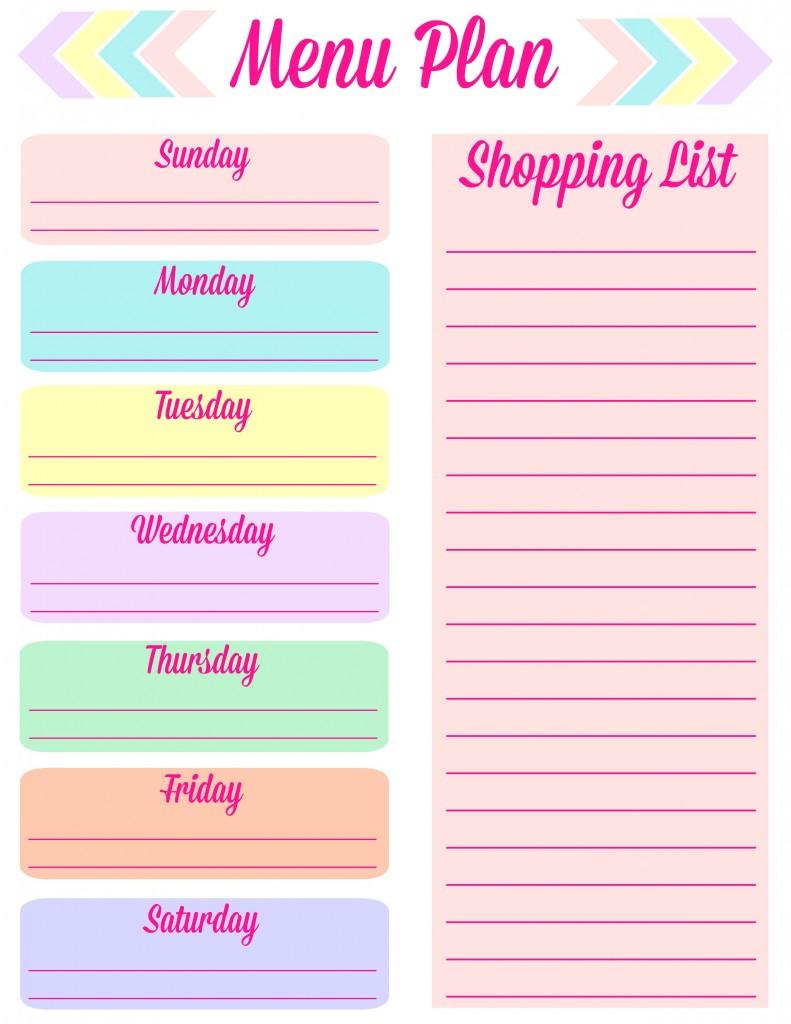 menu-planning-printable
