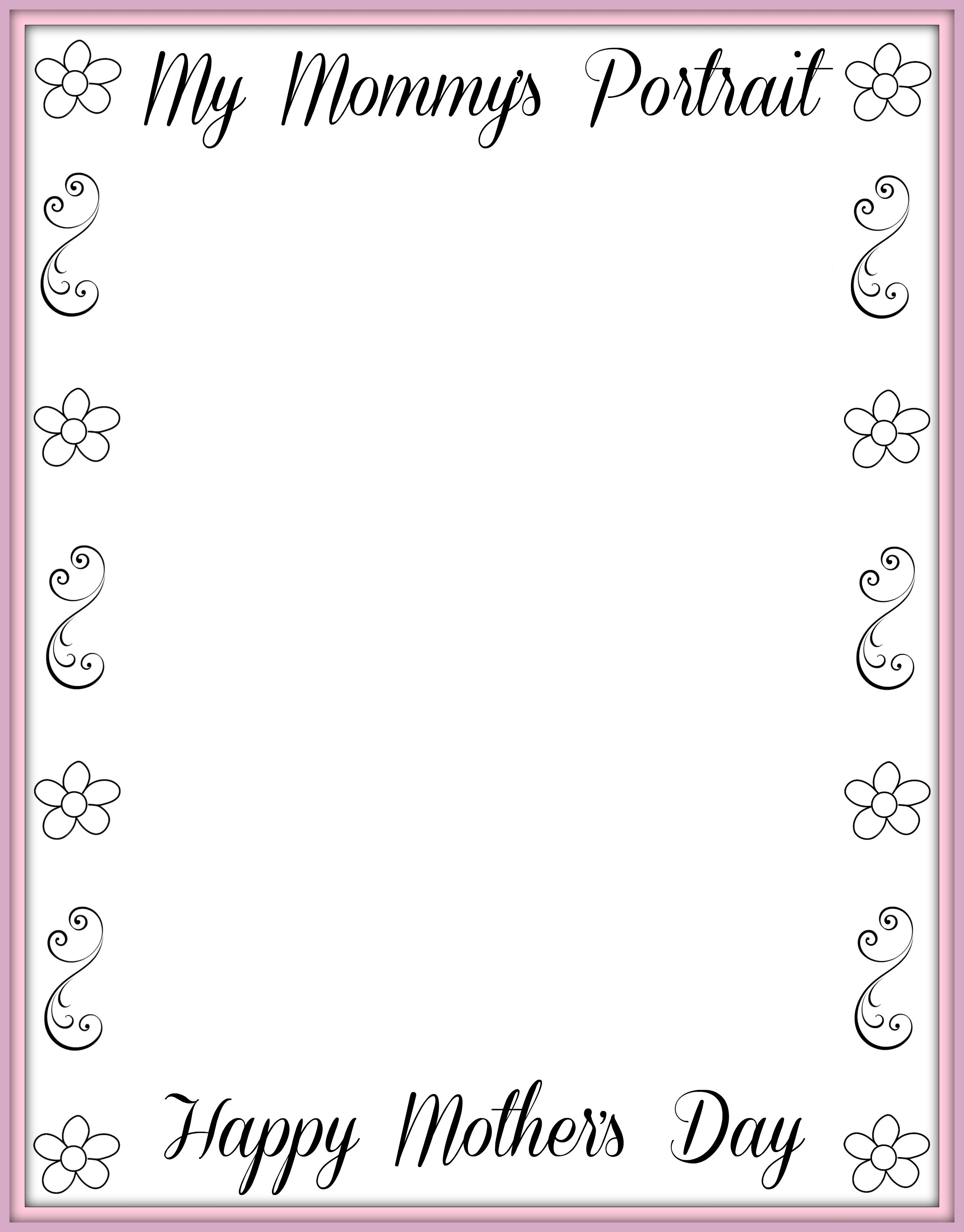 Mother S Day Questionnaire Free Printable