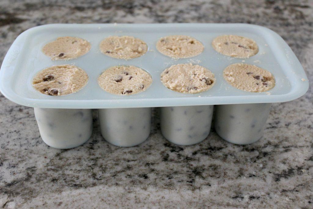Dough in cups