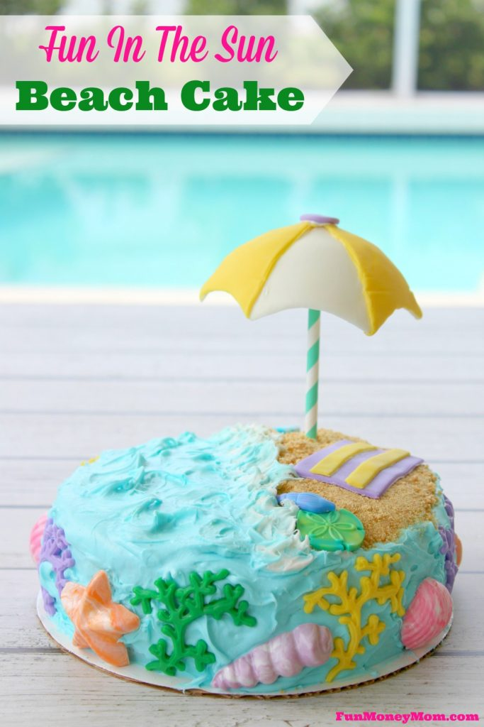 Have you ever wanted to make a cake with a beach theme? Well, if I can do it, you can too. This easy beach cake was fun to make and even more fun to eat!