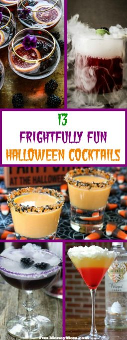 What good is Halloween if you can't celebrate with some delicious Halloween cocktails? From drinks with dry ice to layered cocktails, these concoctions will make your Halloween party frightfully fun!