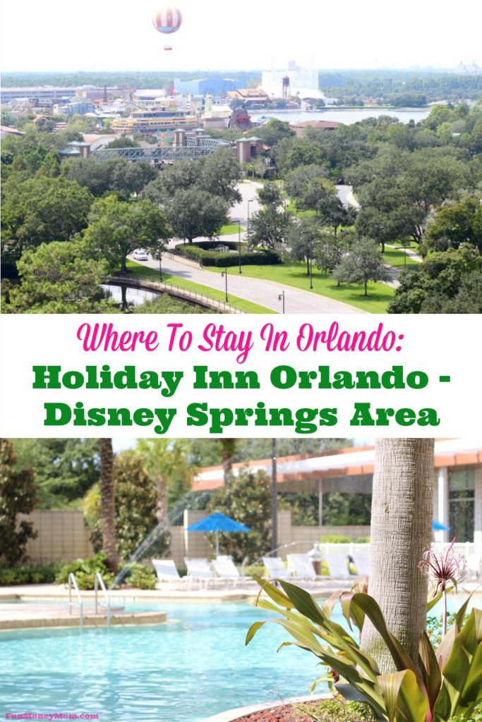 Looking for a great hotel in Orlando? Find out why I love to stay at the Holiday Inn Orlando - Disney Springs!