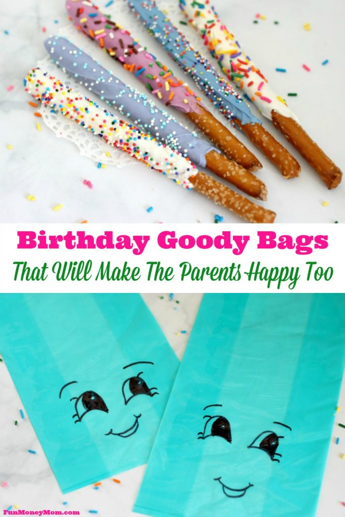Tired of filling your child's birthday goody bags with cheap trinkets? These are the goody bags that will make everyone happy!