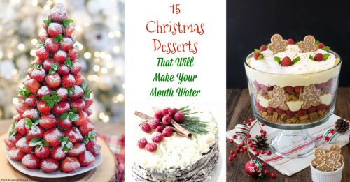 Christmas desserts facebook