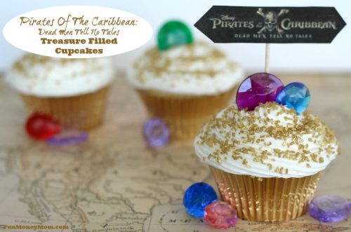 Pirates Of The Caribbean cupcakes