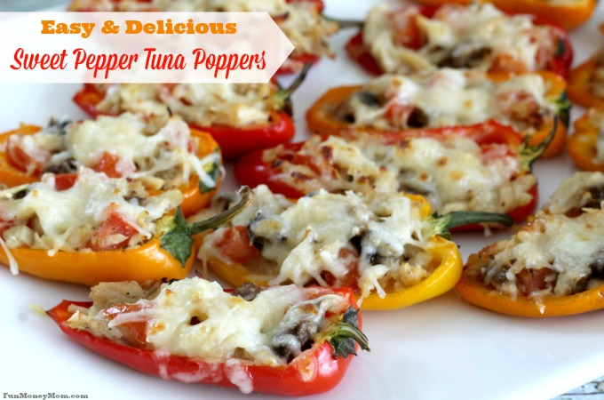 Sweet Pepper Tuna Poppers feature