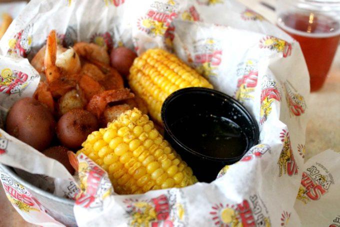 More shrimp at Sam's Beach Bar
