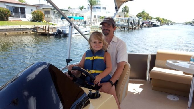 Renting a boat is a must do while in Pasco County