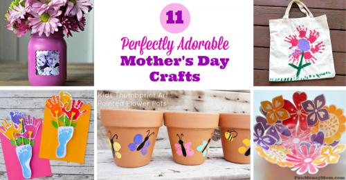 Mothers day crafts facebook