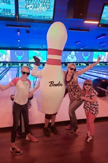 Bowlero Bowling Pin mascot