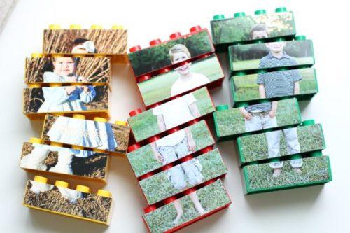 creative photo crafts - Lego puzzles