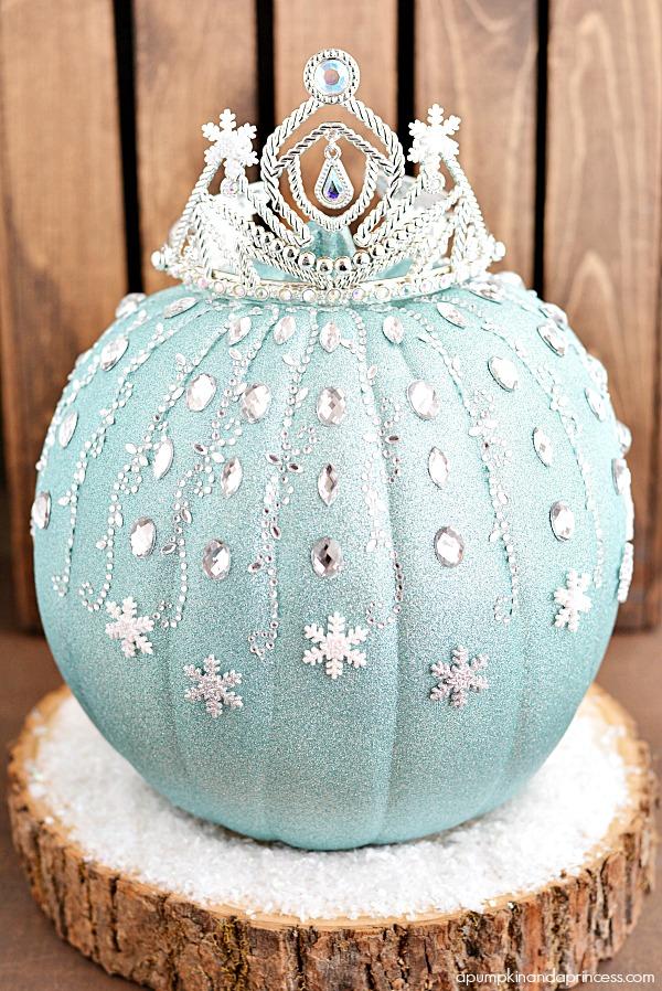 Frozen No Carve Pumpkins