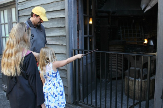 The interactive wands at Universal Studios Orlando are a fun souvenir for Harry Potter fans