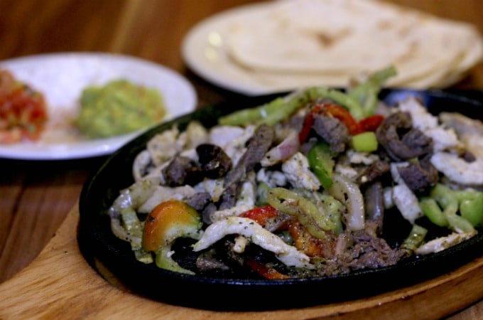 One choice for dinner is the Mexican Cantina