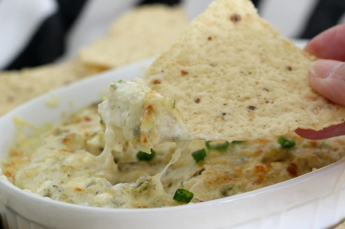 This creamy pickle dip is perfect for parties.