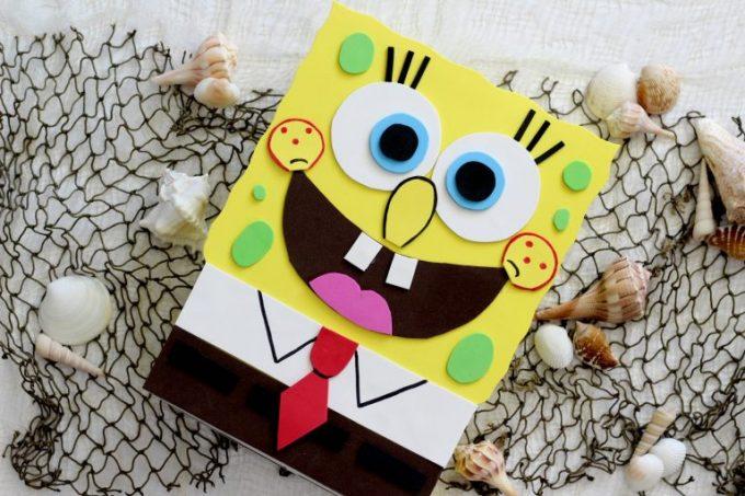 Spongebob Valentine Box Fun Money Mom