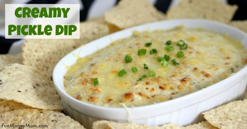 Creamy Pickle Dip facebook