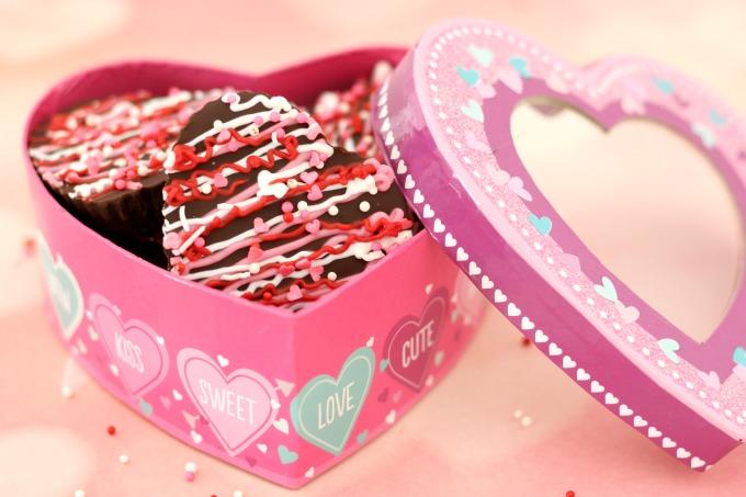 Dark Chocolate Valentine Hearts also make a great teacher gift.