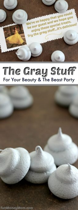 The Gray Stuff - the perfect treat for your Beauty And The Beast party