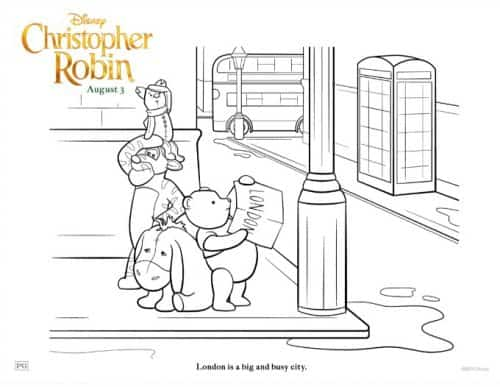 Winnie The Pooh And Friends coloring pages