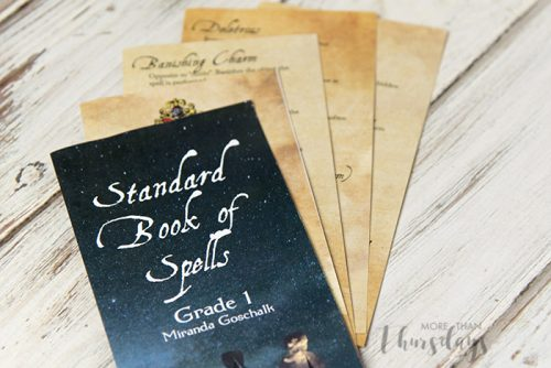 DIY Harry Potter Book Of Spells