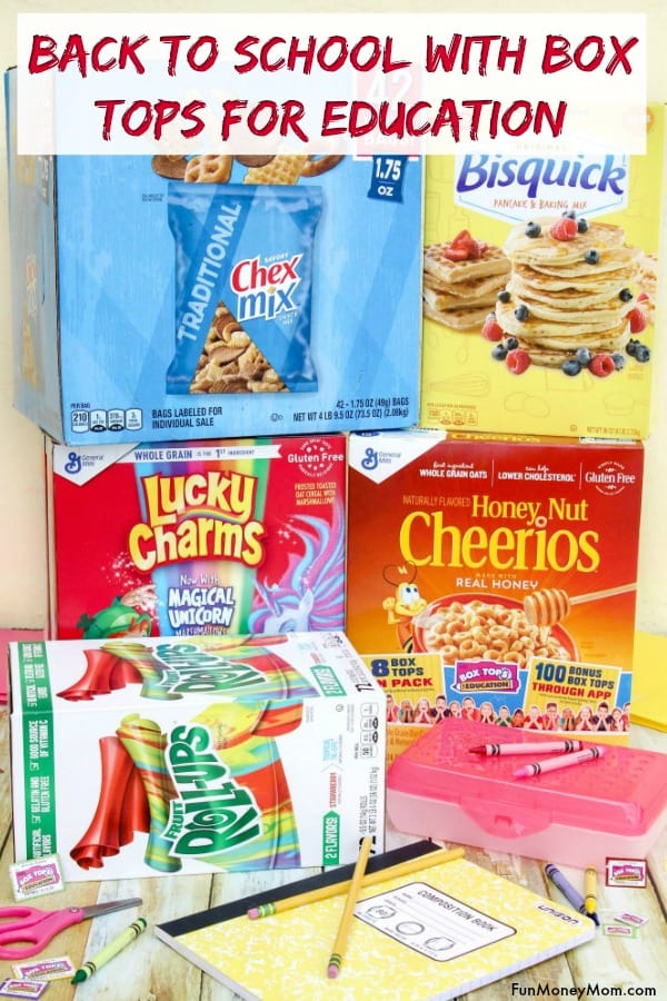 Box Tops For Education - Getting ready for back to school? Find out how you can help your favorite school earn money by participating in the Box Tops For Education Program! #ad #BoxTopsAtSamsClub @SamsClub @BTFE
