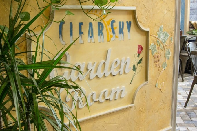 Garden Room at Clear Sky On Cleveland in Clearwater
