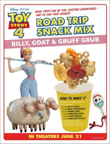 Bo Peep's Toy Story Snack Mix