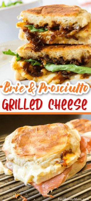 Grilled cheese with brie