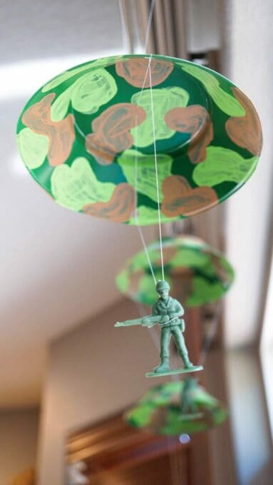Parachute Army Guy