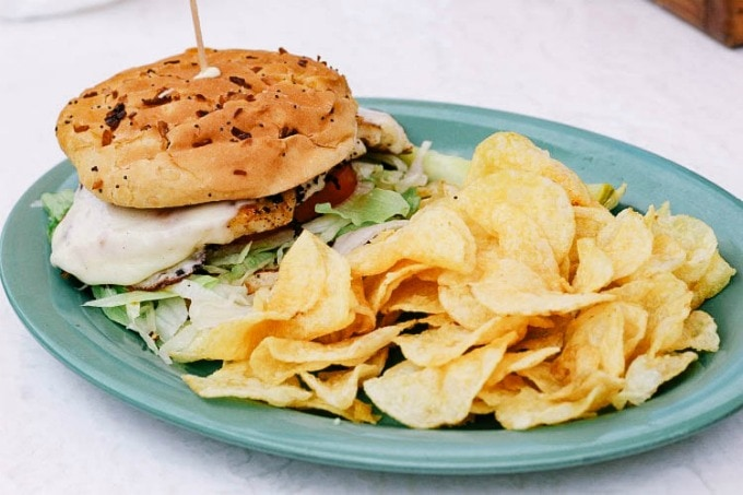 Grouper Sandwich at Frency's Restaurant makes this one of the best restaurants in Clearwater, Florida