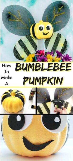 Bumblebee Pumpkin pin 2