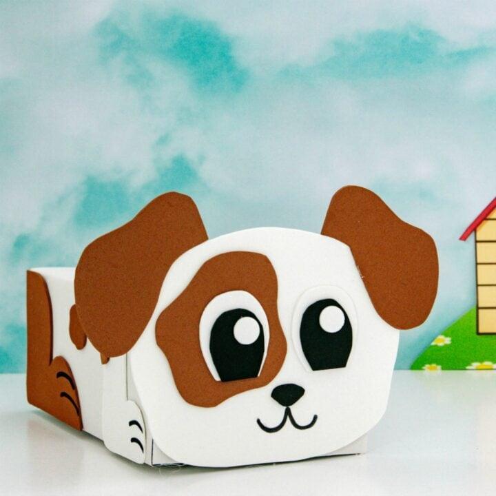 Dog Valentine Box sq