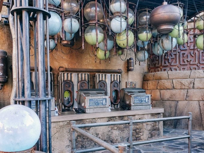 The Milk Stand in Galaxy's Edge