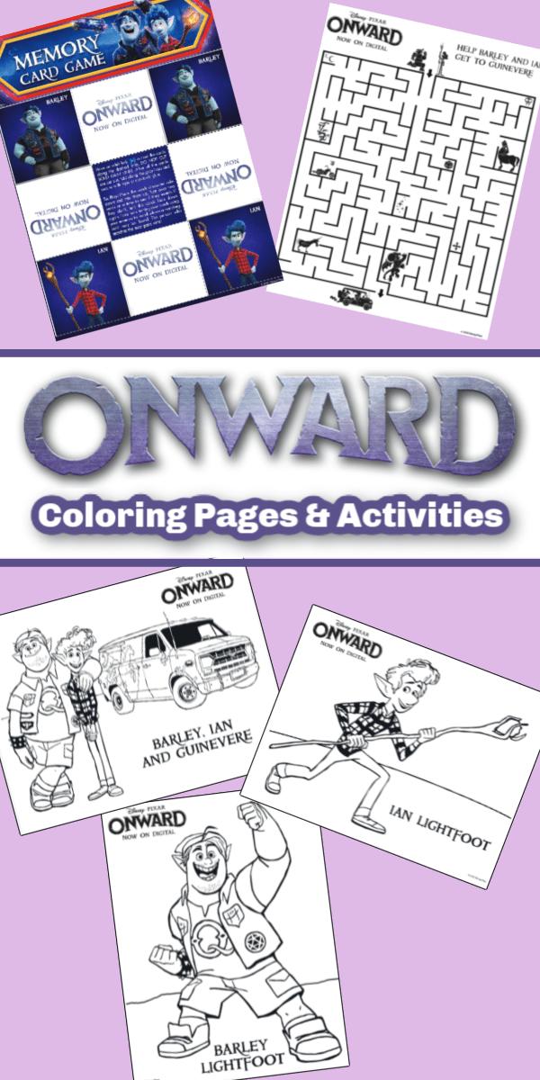 Onward Coloring Pages Pin 1