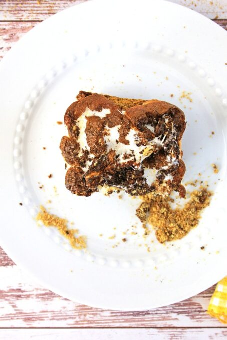 S'mores brownie from above