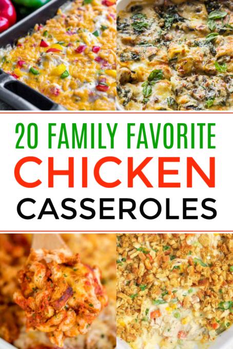 Chicken casserole pictures
