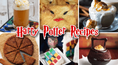 Harry Potter recipes including butterbeer and cupcakes