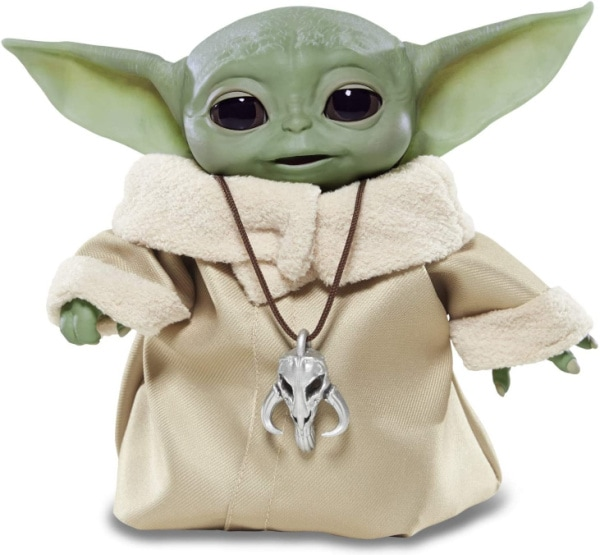 One of the hottest Christmas gifts this year is an animatronic Baby Yoda