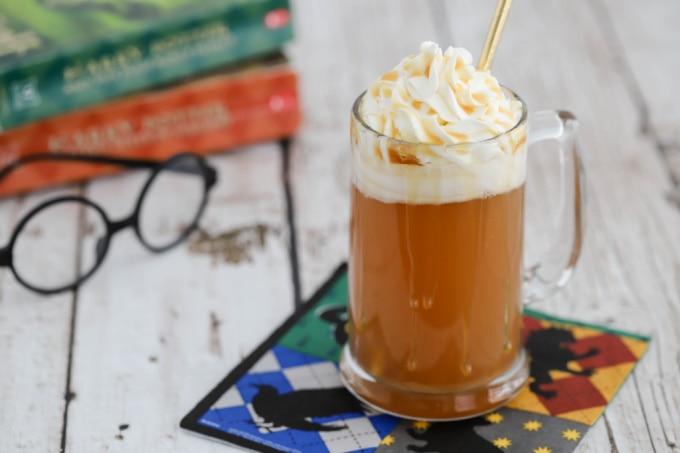 Harry Potter Butterbeer Recipe in mug