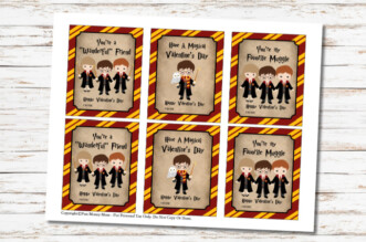 Harry Potter Valentine Cards