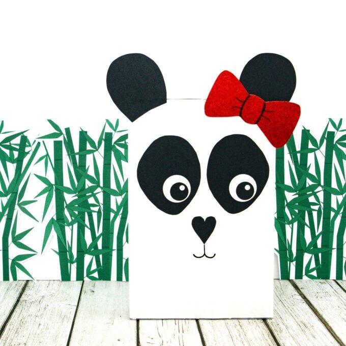 Panda box for valentine's day