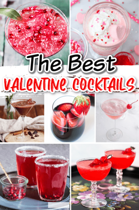 Collection of Valentine's Day Cocktails