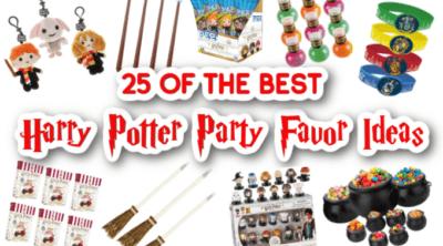 Harry Potter Party Favors