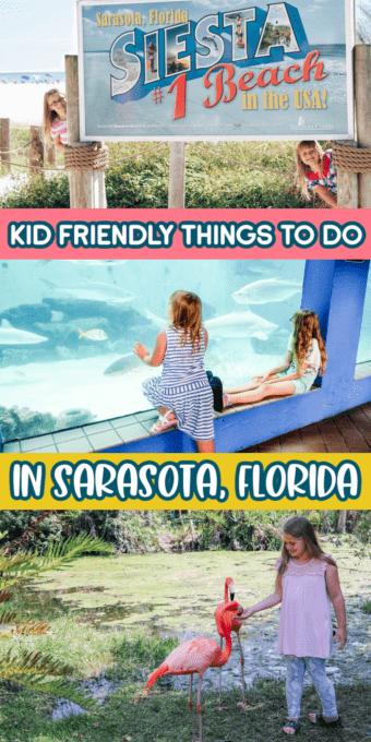 Kids having fun in Sarasota Florida