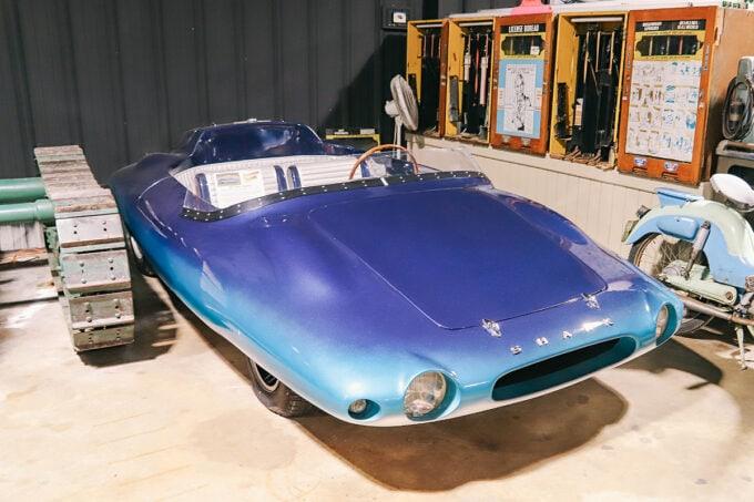 Shark car at Sarasota Classic Car Museum