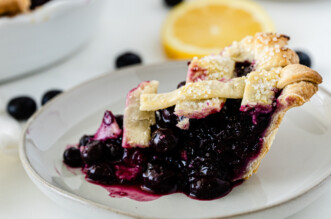 Blueberry Pie Filling feature